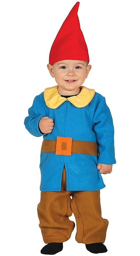 Guirca-87613 Costume Elfo Bambino 12 24 Mesi Bimbo 9958752ac586