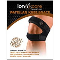 Knee Support Brace Strap with Open Patella from ionocore®. Patella Knee Strapping for Running, Jumping, Outdoors Sports and Pain Relief. (1)