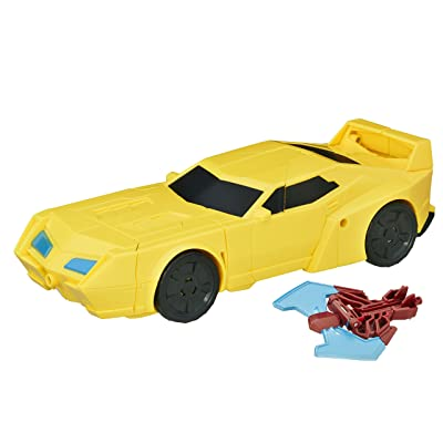 Transformers: Robots in Disguise Power Surge Bumblebee and Buzzstrike: Toys & Games