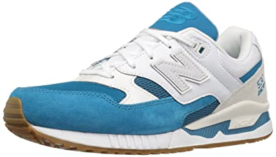 the best attitude a8682 fbc05 New Balance M530 AA D Trainers Men, White/Blue, 9 US - 42.5 ...