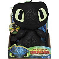 DreamWorks Dragons Squeeze & Growl Toothless 10-Inch Plush with sounds