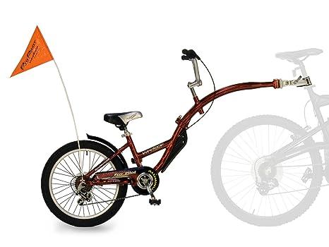 Wee Ride Bicicletta Tandem Per Bambini In Alluminio Nero Schwarz