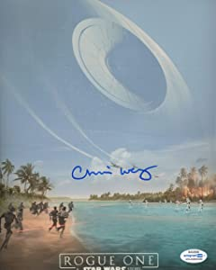 """Chris Weitz""""Rogue One: A Star Wars Story"""" Writer AUTOGRAPH Signed 8x10 Photo ACOA"""