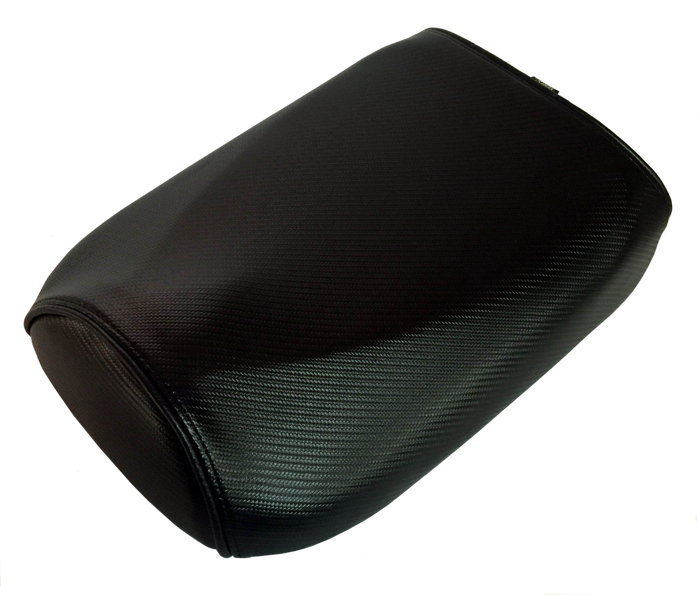 Honda Ruckus Cheeky Seats Black Carbon Fiber with Piping Seat Cover (Black Piping)