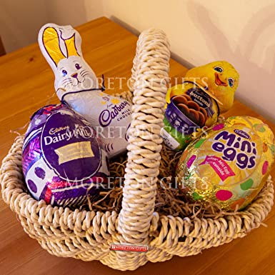Cadbury easter eggs bunny and chick easter hunt basket of treats cadbury easter eggs bunny and chick easter hunt basket of treats dairy milk negle Choice Image