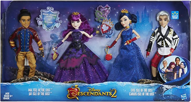 Disney Descendants Two-Pack Evie Isle of the Lost and Carlos Isle of the Lost...