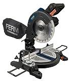 FERM MSM1037 Troncatrice 1300W 210mm - Laser - Sacchetto di polvere