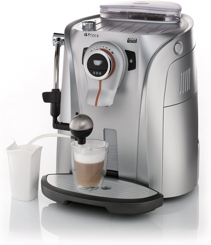 Philips Saeco RI9757/47 - Cafetera (Máquina espresso, Granos de café, Molinillo integrado, 1400 W, Acero inoxidable): Amazon.es: Hogar