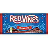 Red Vines Red Licorice, Original Red Flavor Twists, Soft & Chewy Candy, 5oz Trays (12 Pack)