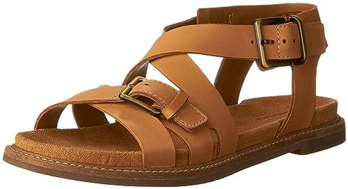 ec67de8234f Clarks Artisan Corsio Bambi Women US 7 Tan Gladiator Sandal  Amazon ...
