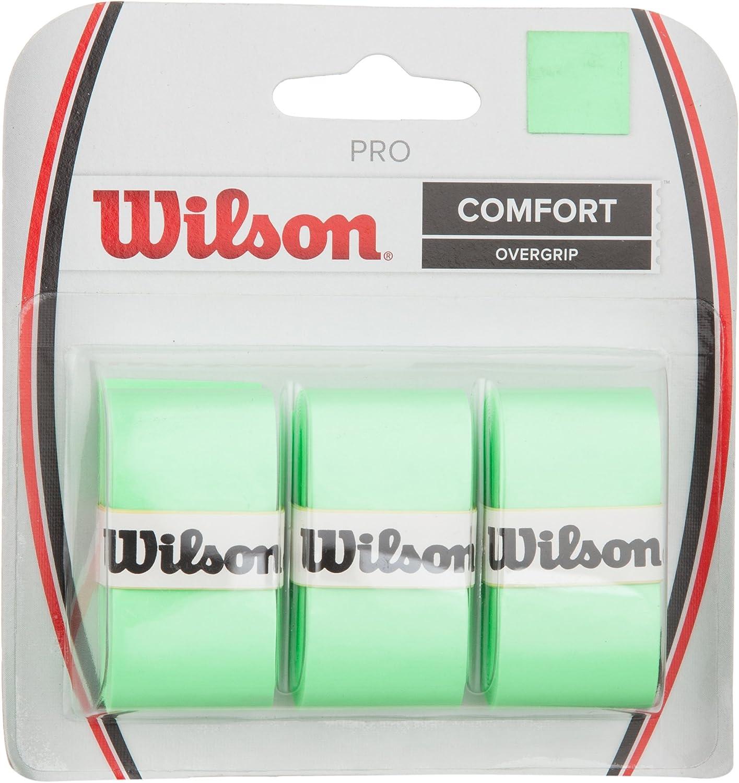 SQUASH WILSON PRO OVERGRIP SENSATION WHITE PACK OF 3 TENNIS GRIPS PADEL TENNIS