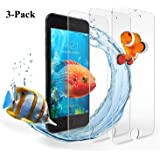 iPhone 7 Plus Screen Protector, Hotbin [3-Pack] Ballistic Tempered Glass, 3D Touch Compatible Screen Protection for Apple iPhone 7 Plus