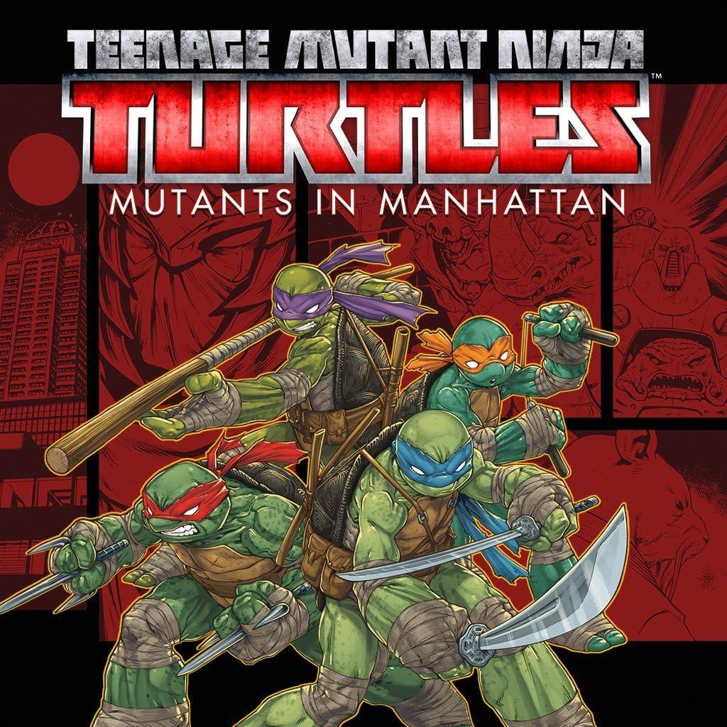 Amazon.com: Teenage Mutant Ninja Turtles: Mutants In ...