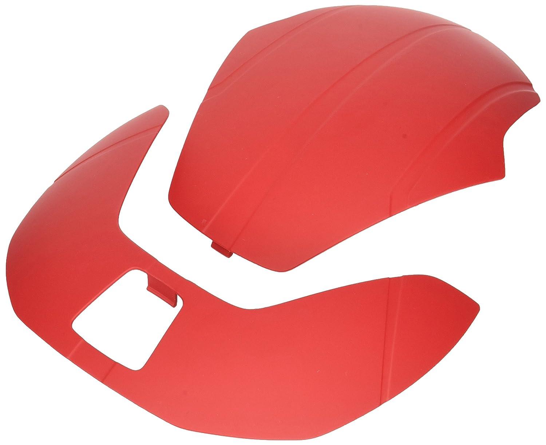 Unisex Adulto 50773 Accesorios para Cascos CEBF5 54-58 cm Boll/é Rojo Matte