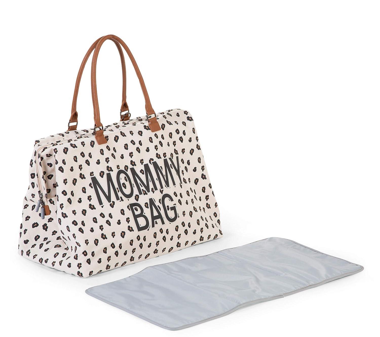 Childhome MOMMY Bag Sac /à langer Motif l/éopard 55 x 30 x 30 cm