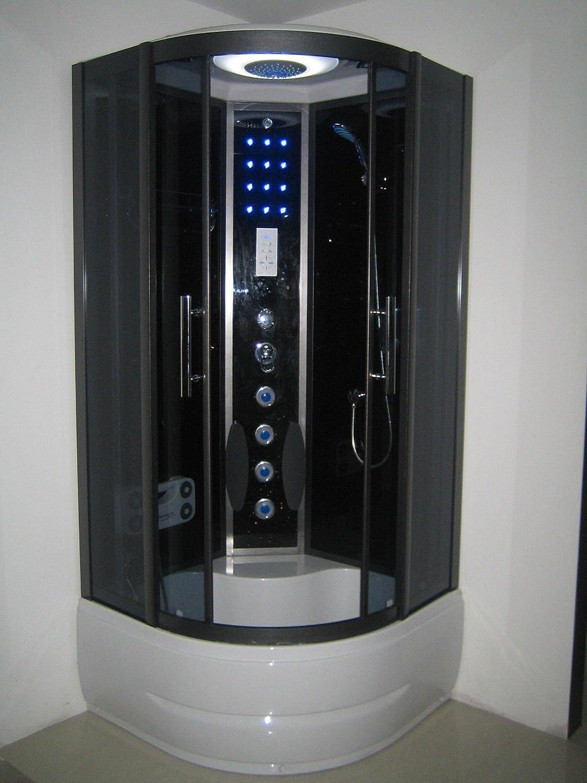 Cabina de ducha de vapor de lujo (900 mm x 900 mm)
