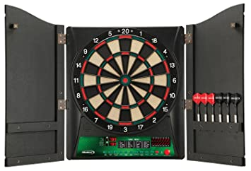 Halex Electronic Dartboard With Cabinet Roselawnlutheran