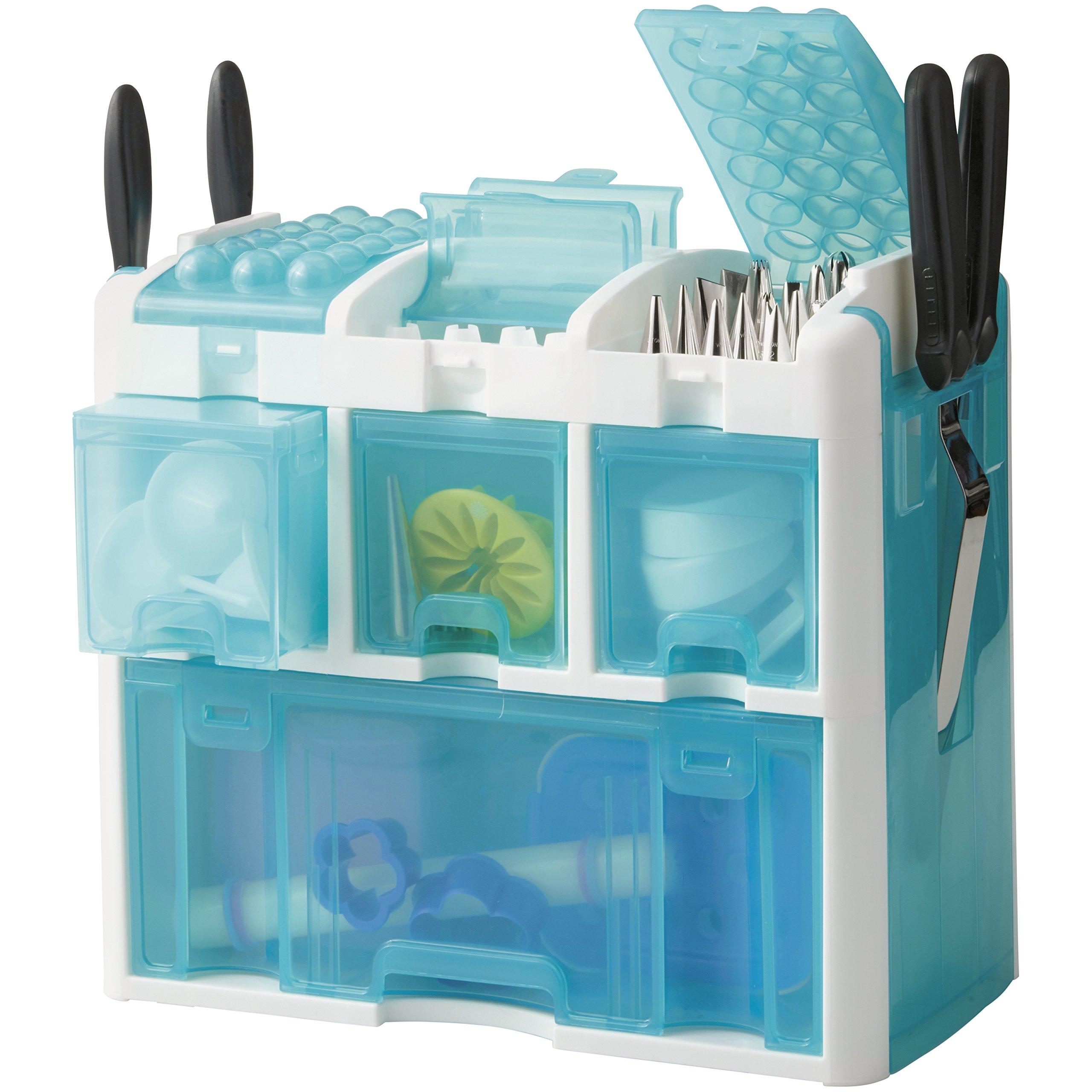 Wilton 2109-7245 Ultimate Decorating Set Tool Kit, Blue by Wilton (Image #4)