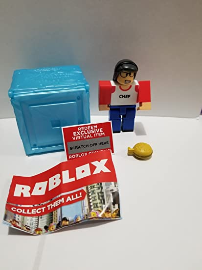 Amazoncom Roblox Series 3 High School Life Lunchlady Action Figure