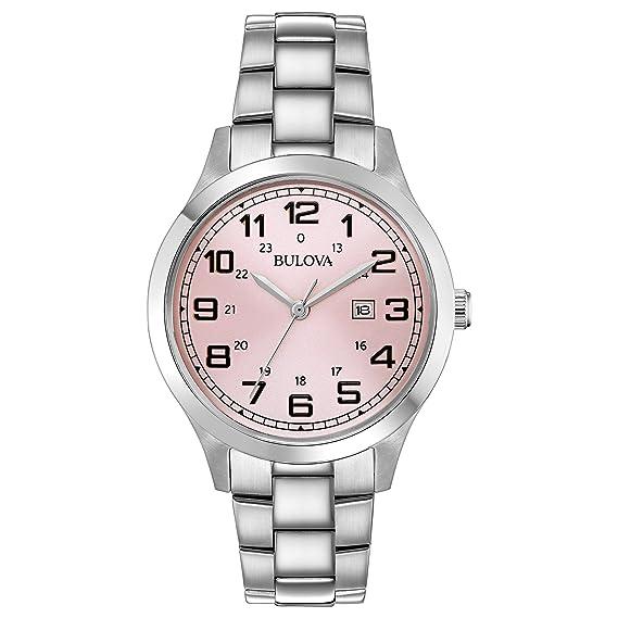Amazon.com: Bulova 96M143 - Reloj de pulsera para mujer ...