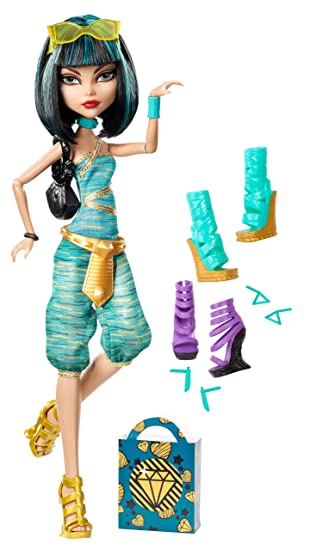 Worksheet. Amazoncom Monster High Cleo De Nile Doll  Shoe Collection Toys
