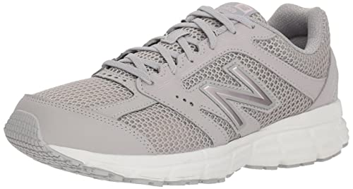 New Balance Women s 460v2 Cushioning Running Shoe, rain Cloud, 8 B US