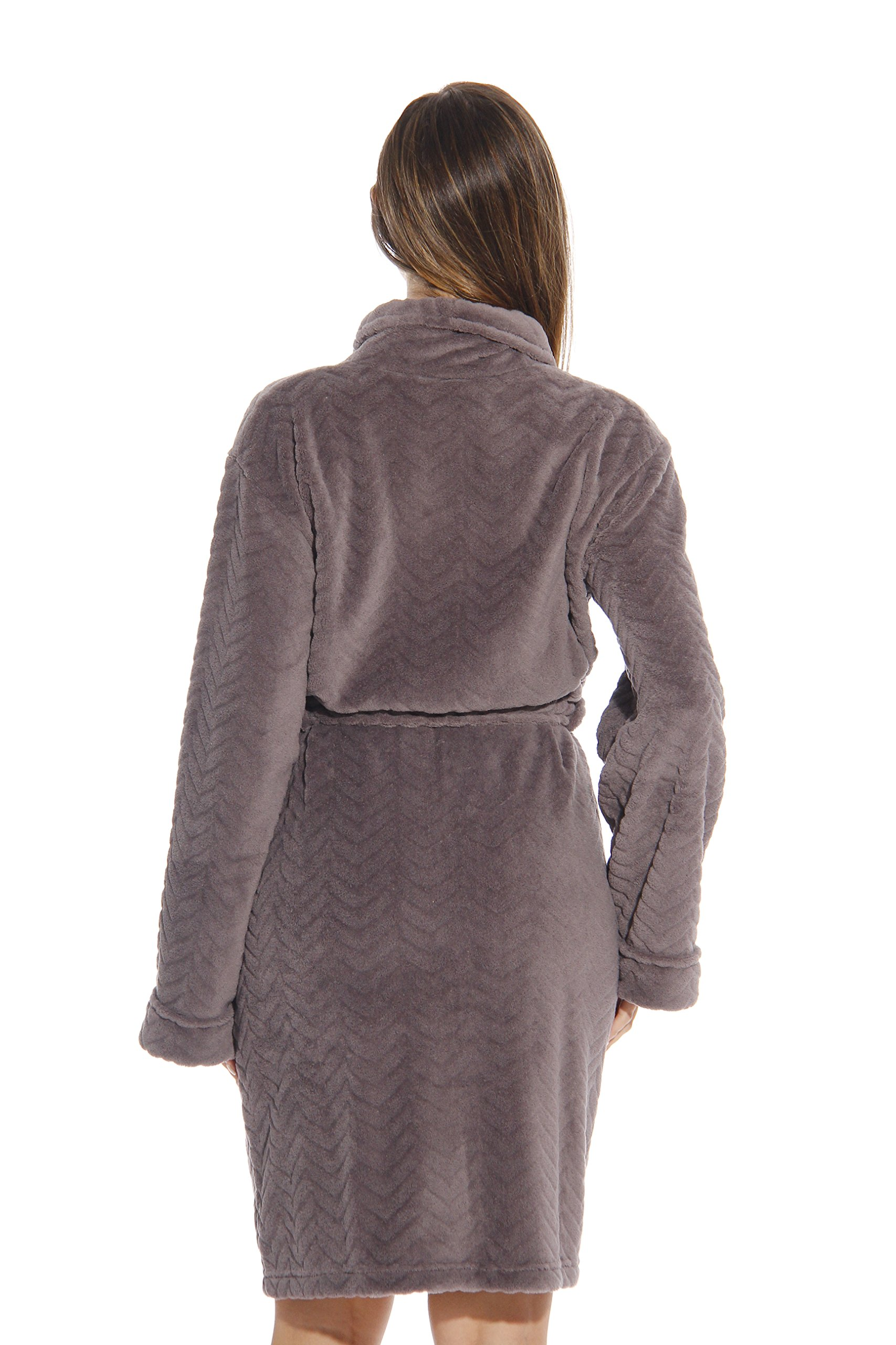 6312-Charcoal-M Just Love Kimono Robe / Bath Robes for Women by Just Love (Image #3)
