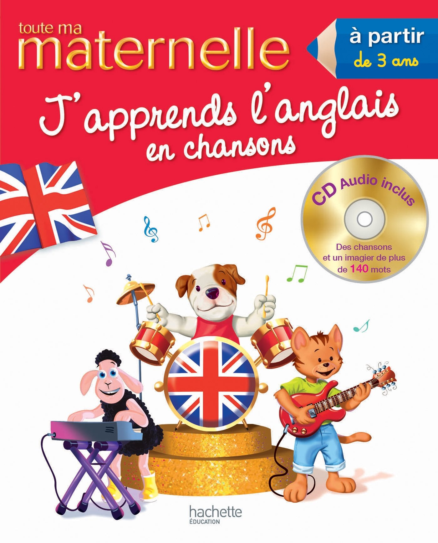 Bien connu Amazon.fr - Toute ma maternelle - J'apprends l'anglais en chansons  TI21