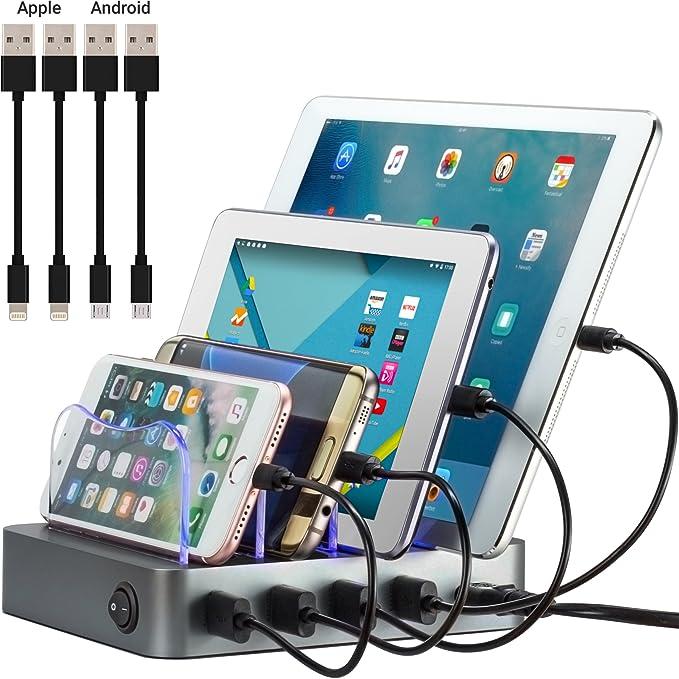 Amazon.com: Simicore Smart Charging Station Dock & Organizer for ...