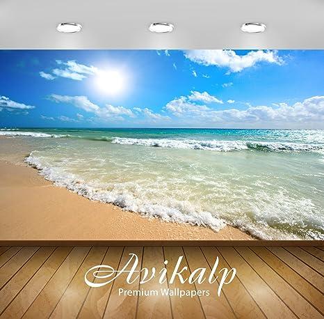 Buy Avikalp Exclusive Awi1809 Beautiful Sea Waves Full Hd