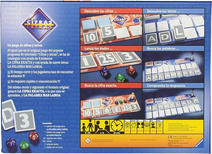 Ravensburger 264551 Cifras y letras: Amazon.es: Juguetes y juegos