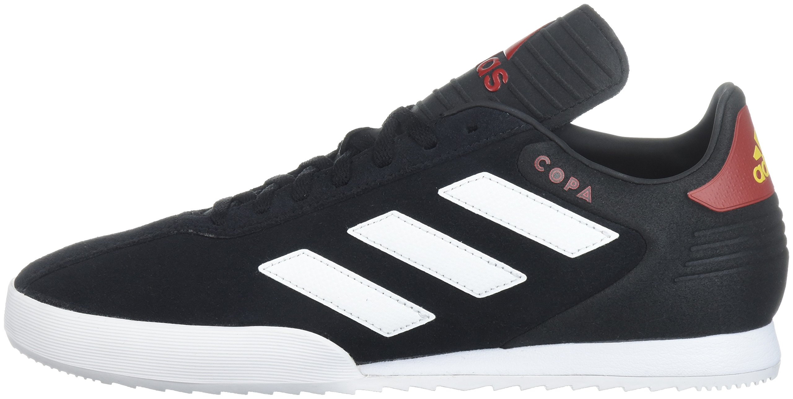 adidas Men's Copa Super Soccer Shoe, Black/White/Power Red, 9 M US by adidas (Image #5)