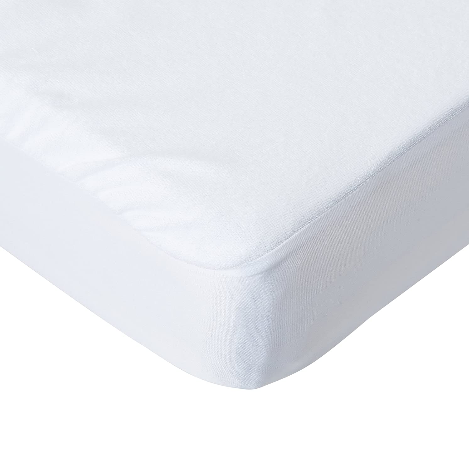 Very Helpful Crib Mattress Pad Amazon.com : The Best Crib Mattress Protector by Primary Comfort - All  Natural, Waterproof - Soft, Topper Style Fitted Mattress Pad for Baby Crib  and ...