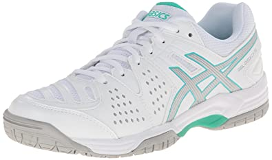 ASICS Women's Gel-Dedicate 4 White/Silver/Mint 11.5 B - Medium