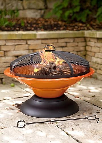 La Hacienda 58169US Moda Enameled Fire Pit