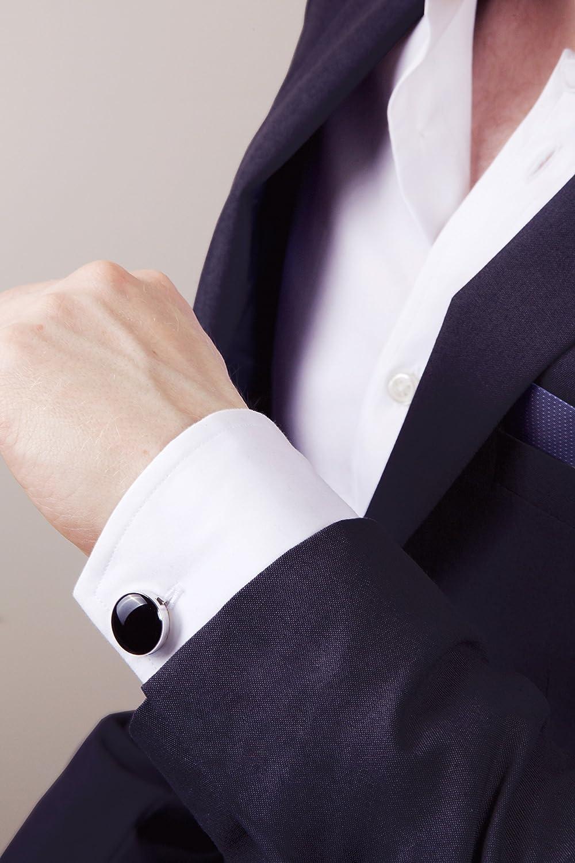 Camicie Eleganti e Casual Alternativa ai Gemelli Button Cuff Copribottoni per Camicia Ideali per Abiti e Smoking