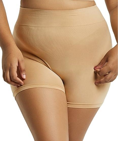 Value Packs Popular Womens Plus Size Tummy Control High Waisted Boyshorts