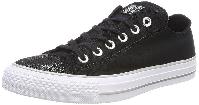 f24a0600d7dd Converse Women s Chuck Taylor CTAS Ox Canvas Fitness Shoes  Amazon.co.uk   Shoes   Bags