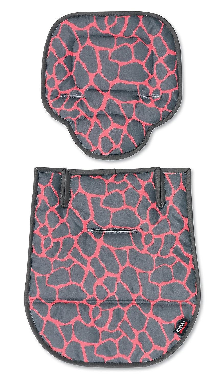 Britax B-Agile Fashion Stroller Kit, Pink Giraffe S888800