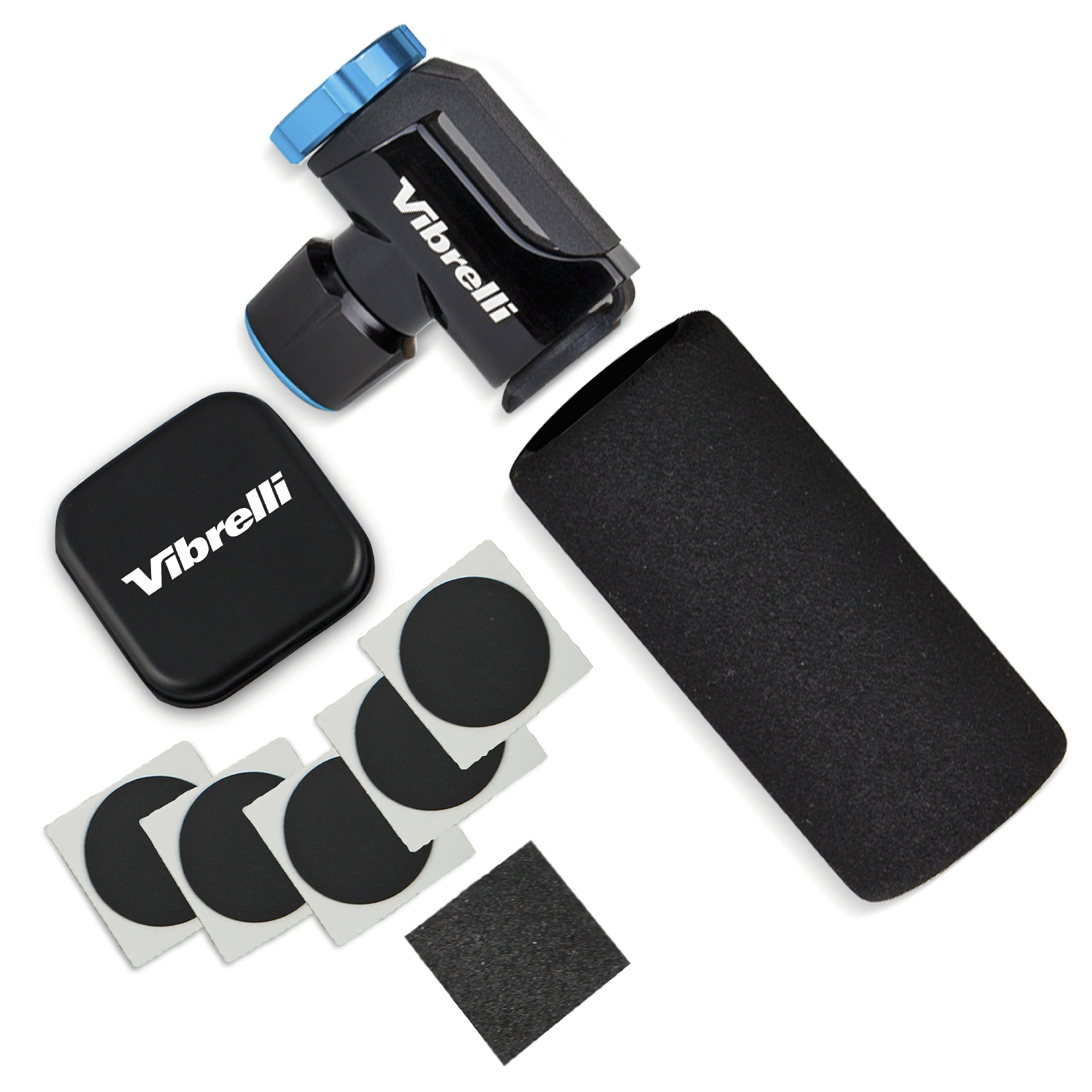 Vibrelli Performance CO2 Inflator - Glueless Puncture Kit - Presta & Schrader Valve Compatible