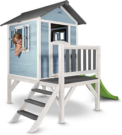 Sunny C050.002.01 casa de Juguete - Casas de Juguete (Casa de Juegos sobre pilares, Niño/niña, 2 año(s), Azul, 10 año(s), Madera): Amazon.es: Juguetes y juegos
