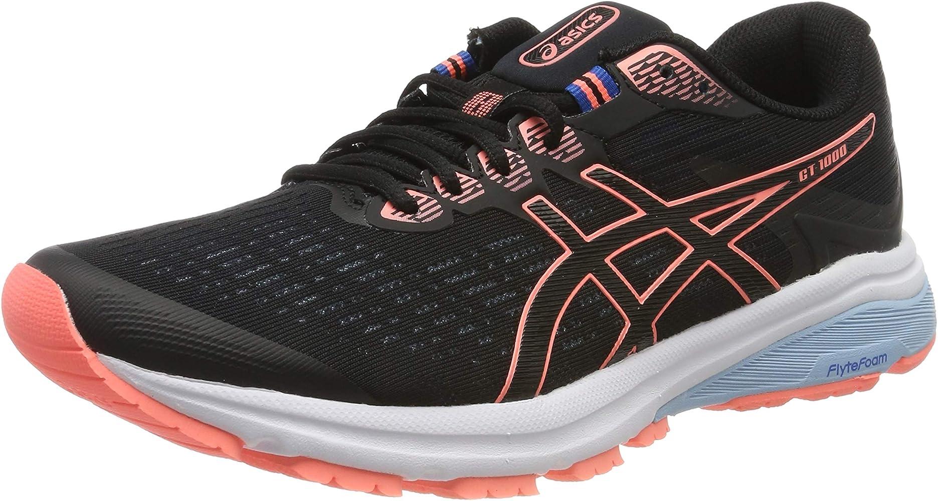 Asics Gt-1000 8, Zapatillas de Running para Mujer, Negro (Black ...