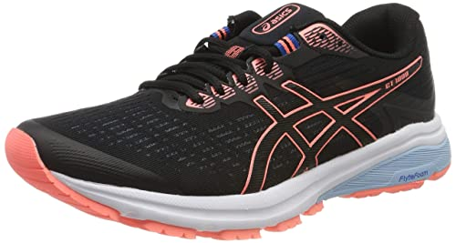 Asics GT 1000, Chaussures de Running Compétition Femme, Noir