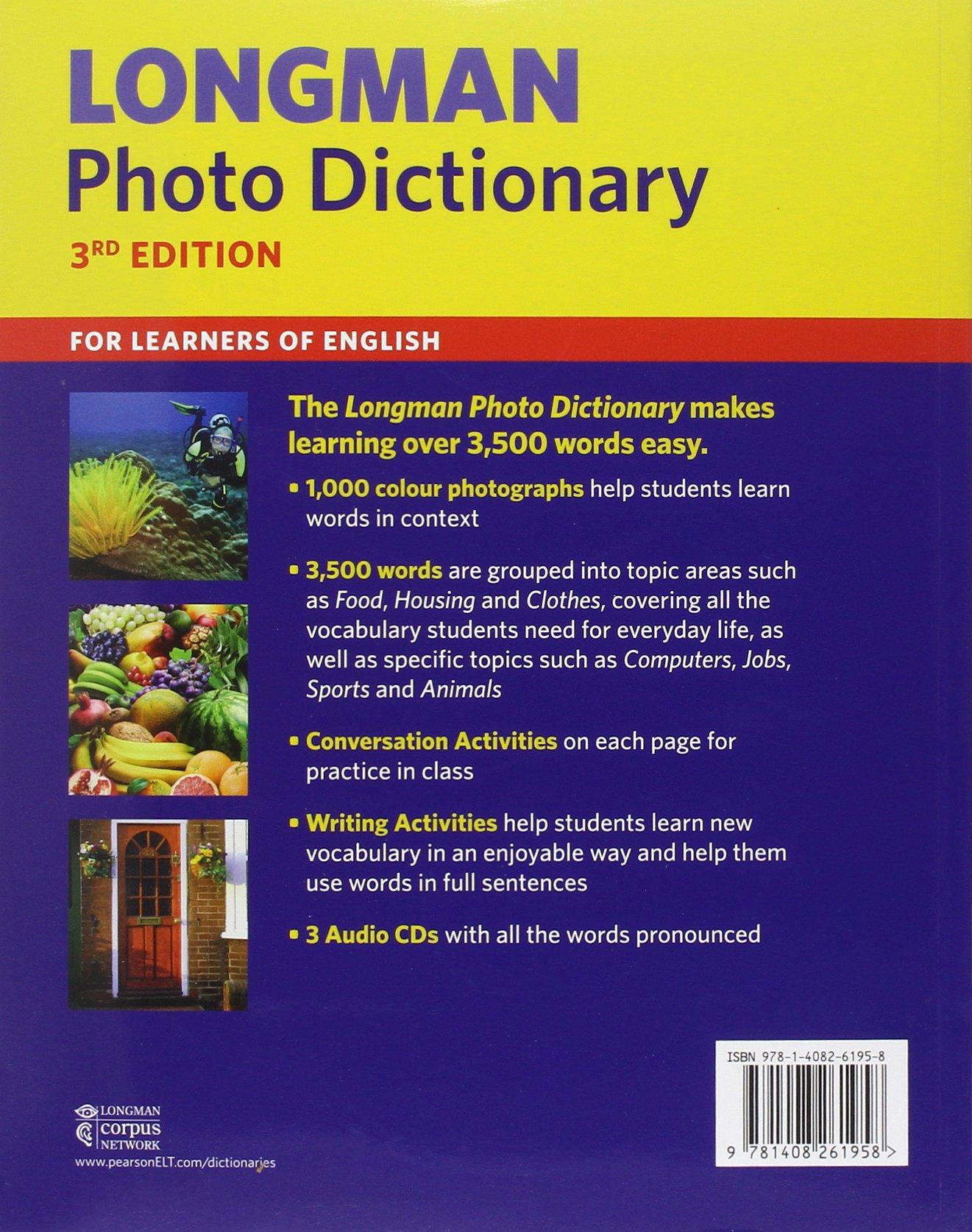 Longman Photo Dictionary Amazon Author 9781408261958 Books