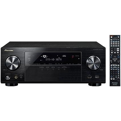 Amazon.com: Pioneer VSX-1124 7.2-Channel Network A/V Receiver (Black ...
