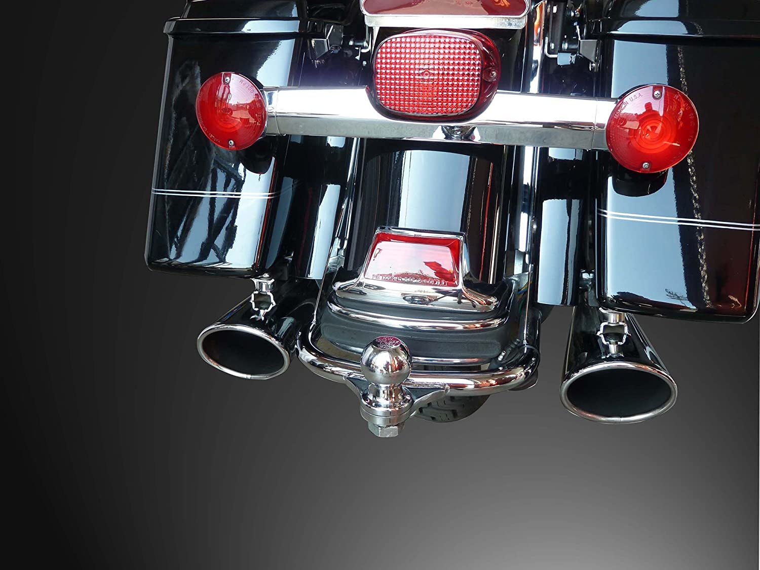 A Motorcycle Trailer Hitch Liberty