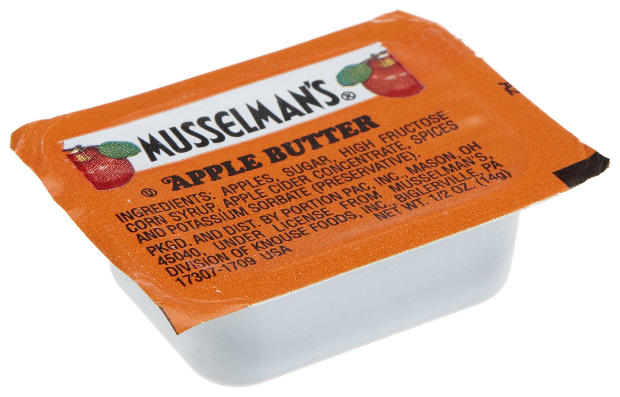 Musselmans Apple Butter, 0.5-Ounce Single Serve Cups (Pack of 200)