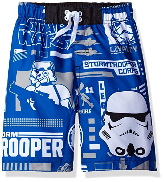 b2c4b8a615 Amazon.com: Star Wars Toddler Boys' Swim Trunk: Clothing