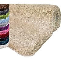 casa pura Tapis de Bain Qualité Premium Oeko Tex | Epais, Moelleux, Absorbant | Lavable en Machine | Nombreuses Tailles et Couleurs
