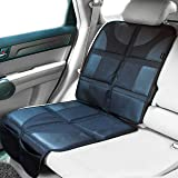 Sunferno Car Seat Protector - Protects Your Car Seat from Baby Car Seat Indent, Dirt and Spills - Waterproof Thick Padded Pro